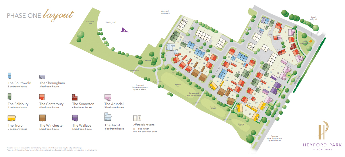 Site Plan - Upper Heyford